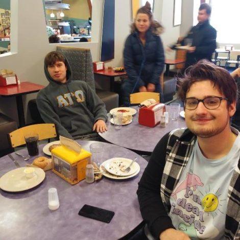 Adrian Alpha Mu: Brothers Enjoy Lunch Together (Adrian 20181113)