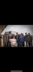 "Alpha Tau Omega participates in local philanthropic event ""Secret Families"" (Ball State 20181210)"