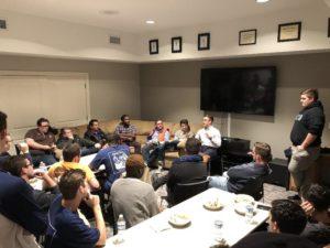Alumni Panel during Homecoming (Bowling Green State 20181023)