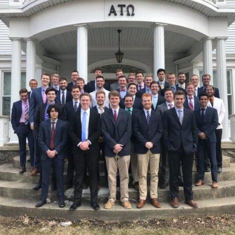 Beta Kappa Initiates Eight New Members (Hillsdale 20180411)