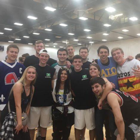 Gamma Zeta Takes On Kappa Delta Dodgeball Tournament (Illinois 20160314)
