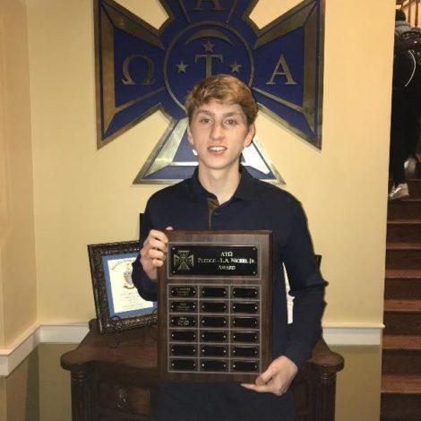Gamma Rho's Callier wins L.A. Nickel Scholarship Award (Missouri 20180206)