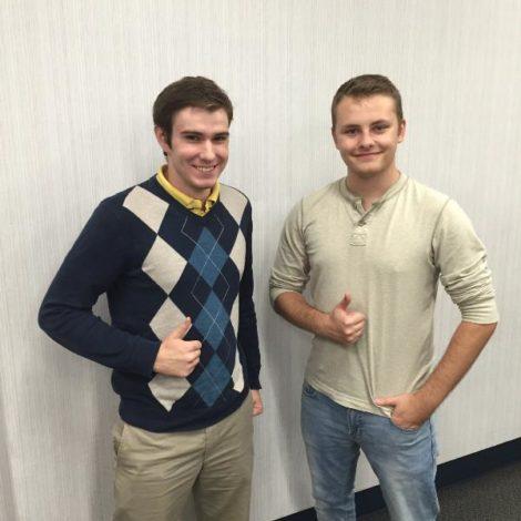 Brothers land an internship with Amazon! (North Dakota 20150924)