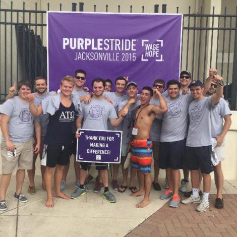 Purple Stride Beach Run (North Florida 20150928)