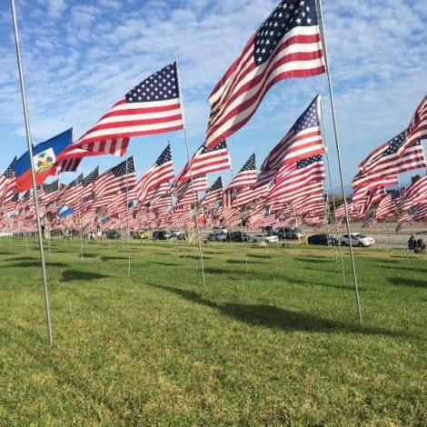 Waves of Flags (Pepperdine 20150913)