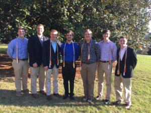 Brothers Inducted into Alpha Lambda Delta Honor Society (Samford 20160407)