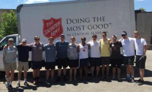 Salvation Army Service Event (Samford 20160427)