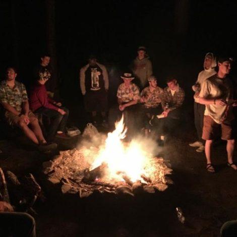 Kappa Rho camps out (Samford 20170411)