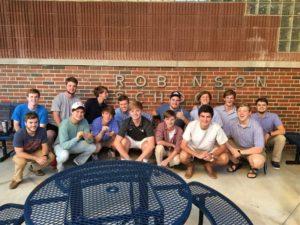 Kappa Rho serves at Robinson School (Samford 20170423)