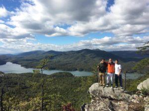 Brotherhood Hike to Hayrock (Virginia Tech 20161117)