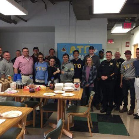 Theta Delta's Pancakes for Police! (Virginia Tech 20170329)