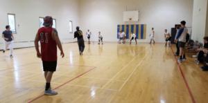 Dodgeball Philanthropy Event (Washington & Jefferson 20160118)