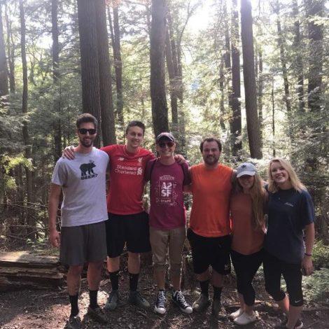 Brothers go on Camping Trip (Washington & Jefferson 20170830)