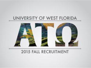 Eta Psi unveils their Recruitment logo (West Florida 20150914)