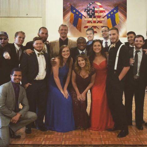 Eta Psi Celebrates Formal in Gatlinburg (West Florida 20160424)