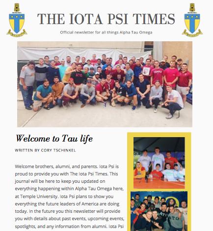 The Iota Psi Times