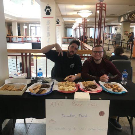 New Member Bake Sale Help Week Event
