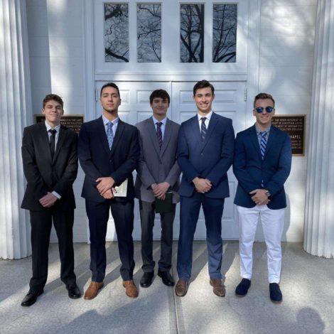 Epsilon Kappa Welcomes Newly Initiated Members
