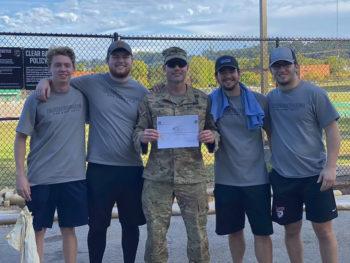 ROTC Blazer Challenge